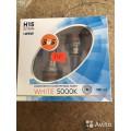 Галогенные лампы серия White 5000K 12V H15 15/55W
